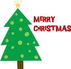 Merry  Christmas Tree print art