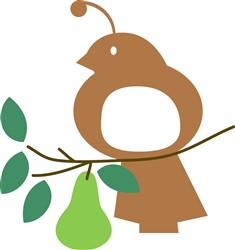 In A Pear Tree print art