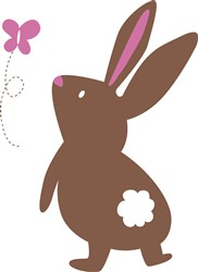 Bunny Rabbit print art