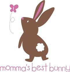 Mommas Best Bunny print art