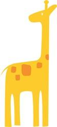 Giraffe print art