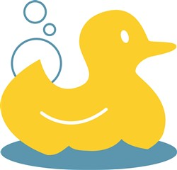 Yellow Ducky print art