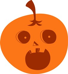 Pumpkin print art