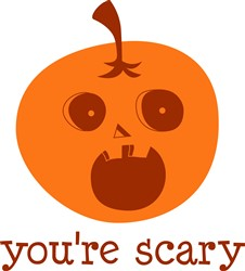 Youre Scary print art