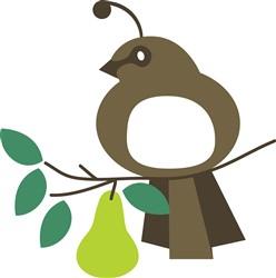 Partridge In Pear Tree print art