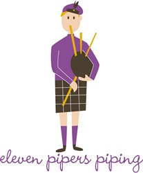 Pipers Piping print art