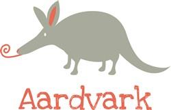 Aardvark print art
