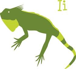 I Iguana print art