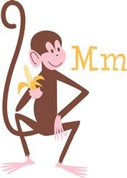 Monkey M print art