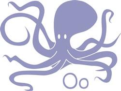 O For Octopus print art