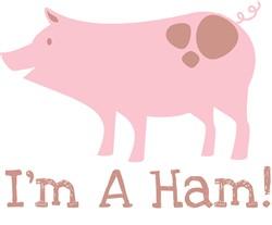 Im A Ham print art