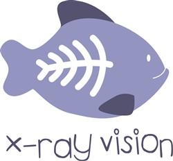 X-Ray Vision print art