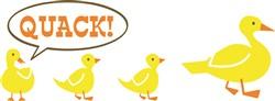 Duck Quack print art