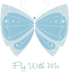 Fly With Me print art