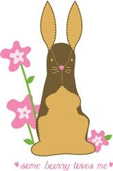 Some Bunny Loves Me print art