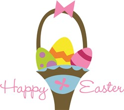 Happy Easter print art