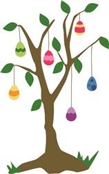 Easter Egg Tree print art
