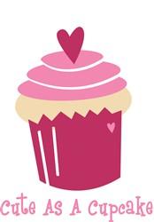 Cute As A Cupcake print art