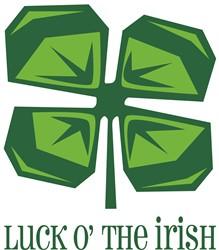 Luck O The Irish  print art