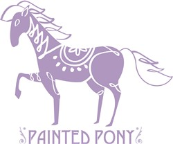 Painted Pony print art