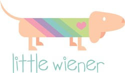 Little Wiener print art