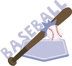 Baseball print art