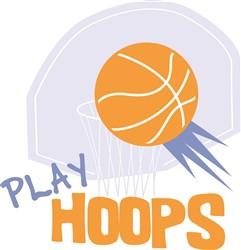 Play Hoops print art