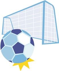 Soccer print art