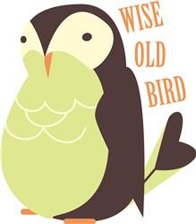 Wise Old Bird print art