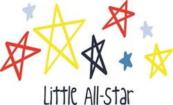 Little All Star print art