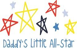 Little All Star print art