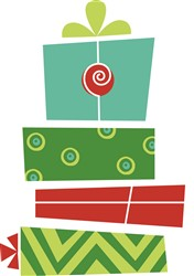 Christmas Presents print art