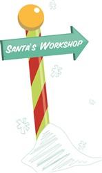 Santas Workshop print art