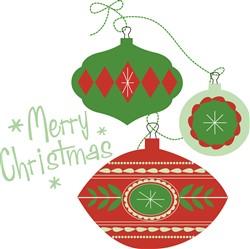 Merry Christmas print art