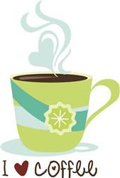 Love Coffee print art
