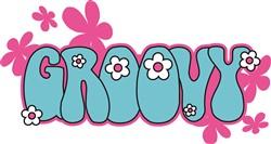 Groovy Flowers print art