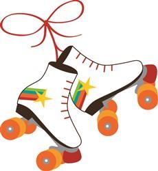 Roller Skates print art