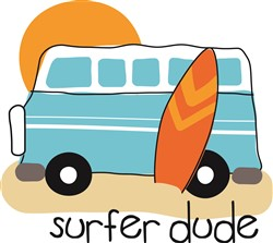 Surfer Dude print art
