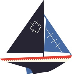 Sail Boat print art