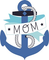 Mom Anchor print art