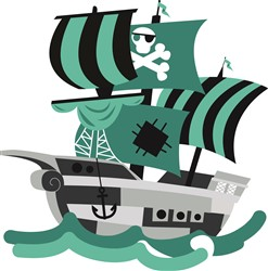 Pirate Ship print art