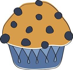 Blueberry Muffin print art