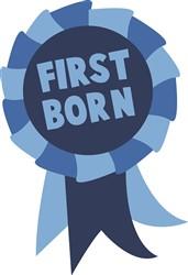 First Born print art