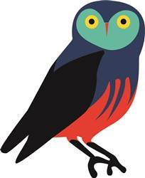 Blue Owl print art