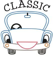 Classic Car print art