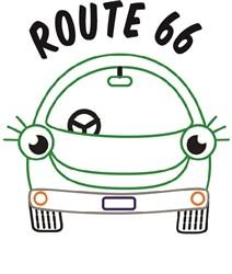 Route 66 print art