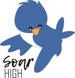 Soar High print art