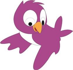 Purple Bird print art