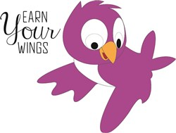 Earn Your Wings print art