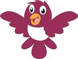 Happy Bird print art